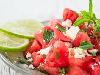 Recette de salade rafraîchissante